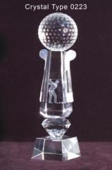 Trophy Crystal 16
