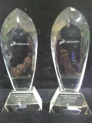 Trophy Crystal 9